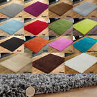 NEW EXTRA LARGE 200 x 290 & 240 x 340 THICK 5cm PILE QUALITY NON SHED SHAGGY RUG