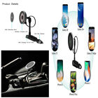 Qi Wireless Car Charger Magnetic Mount Holder For iPhone X 8 Samsung Note 8 S8