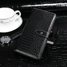Premium Leather Cover Shell Wallet Etui Skin Case For Doro Phone TPU Silicone