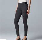 Simply Vera Vera Wang  Women's Luxury Scuba Skinny  Pull On Pants
