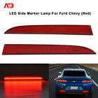 FOR 16+ CHEVY CAMAROLED CSDILLAC AS REAR BUMPER TRIM REFLECTOR SIDE MARKER LIGHT