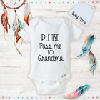 Pass me to Grandma Baby Girl Boy Clothes Onesies Hat Beanie Shower Gift Newborn