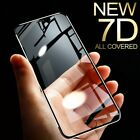 7D Aluminum alloy Tempered Glass for iPhone 6 6S 7plus for iphone x 8 5 SE 5S