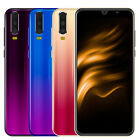 Unlocked A70 Android 8.1 Mobile Smartphone Dual Sim Quad Core Phone Royal Cheap
