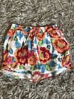 W5. New Look Floral Shorts Women's UK 8
