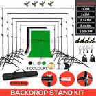 Stability Studio Backdrop Stand KIT Photo Green Screen Background Support System