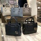 NWT Michael Kors Camille Small Leather Satchel Crossbody Bag In Various Colors