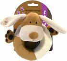 Natural Nippers Cuddle Plush Ring Dog Toy