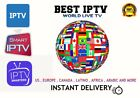 1 MONTH IPTV SUBSCRIPTION - Smarters/Smart IPTV/iOS/Android.. INSTANT Delivery