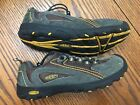 Keen Youth Boys Hiking Trail Shoes Size 4 Oakridge Brown Grey Leather