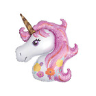"44"" and 16"" Unicorn Rainbow Foil Party Balloon Party Supply Celebration"