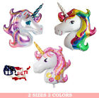 """44"""" and 16""""  Unicorn Rainbow Foil Party Balloon Party Supply Celebration"""
