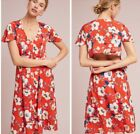 NWT ANTHRPOLOGIE London Rose 🌺Regent Floral Dress Size M.  Retail Prize $158