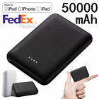 Mini 50000mAh Power Bank Ultra-thin Battery Portable Fast Charger for Cell Phone