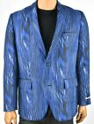 INC International Mens Blue Sports Coat Jacket Blazer New L XL Slim Fit Party