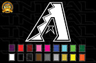 Arizona Diamondbacks Baseball Team Logo MLB Vinyl Decal Sticker Car Window Wall on Ebay