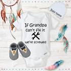Funny Grandpa Baby Boy Clothes Onesies Name Hat Shoes Baby Shower Gift Newborn