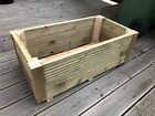 Deluxe Wooden Decking Planter hand built 3ft (92cm) we can supply any size