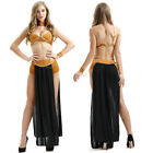 Sexy Women Lingerie Princess Leia Slave Costume Outfit Adult Cosplay Fancy Dress