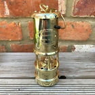 Vintage Brass Metal British Wales Coillery Coal Miners Gas Lighting Safety Lamps
