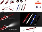 3 in 1 Aluminium LED Torch Laser Light Writing Pen -  BATTERY INCLUDED