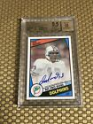2015 TOPPS 60TH ANNIVERSARY DAN MARINO RC REPRINT AUTO BGS 9.5/10 TRUE GEM MINT