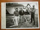 Glossy Press Photo - Kevin O'Keefe Traffic Reporters Helicoper Police Officer 86