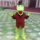 Crocodile Mascot Costume Animal Cosplay Party Fancy Dress Outfit Adults Parade
