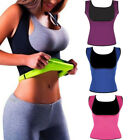 Damen HOT Thermo Sweat Body Shaper Korsett Abnehmen Taille Trainer Mieder Weste