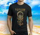 New Popular TOTO IV Classic Rock Band Men's Black T-Shirt S-3XL image