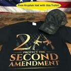 2nd Amendment Protect Molon Labe DTOM Gun Rights Shirt Kryptek With One Free Hat