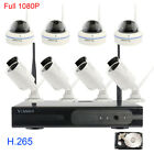 1080P 8 Channels 2.0MP Home Security CCTV System wireless with Hard Drive NVR IP