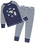 Deux par Deux Boys' Striped Pants and T-shirt Pyjamas Set, Sizes 2-12