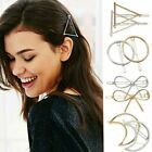 Women Geometric Hair Clips Barrettes Accessories Pins Clip Fastening Elegant