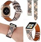 LV Gucci Bumble Bee Pattern Replacement Band Strap For Apple Watch iWatch 2 3 4