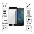 FULL COVER Coverage Tempered Glass Screen Protector 9H For Motorola Moto G5 Plus
