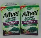 2 - Nature's Way Alive! Garden Goodness Women's Multi-Vitamin  120 Total Tablets