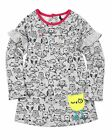 Deux par Deux Little Girls' Printed Fleece Top Owl You Need is Love, Sizes 18m-6