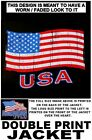 UNITED STATES OF AMERICA VETERAN AMERICAN PRIDE FLAG PATRIOTIC USA JACKET XT89