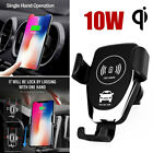 F0ED Black PC White Car Wireless Charger Universal Pratical Automatic $6.8 USD on eBay