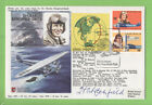 Australia 1978 RAF HA(SP)8d Flown and signed Cover, Trans Pacific Flight Anniv.