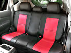 PU Leather Non-Slip Rear Car Seat Cushion Covers for Dodge 255R Bk/Red $39.95 USD on eBay