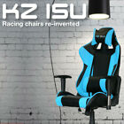 KZ ISU Executive Racing Chair Gaming Office Adjustable Recliner Leather Swivel