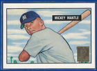1996 TOPPS FACTORY SEAL MICKEY MANTLE COMMEMORATIVE REPRINT 1951 BOWMAN 1 0F 19