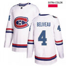 Jean Beliveau 4 Montreal Canadiens Stitched Jersey Limited Replica NHL Hockey