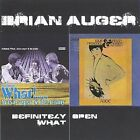 BRIAN AUGER  ( 2 ) WHAT! ( with the TRINITY ) & OPEN ( 2 - DISC PACKAGE )