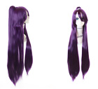 PL-575 Date a Live Tohka Yatogami Purple 39 3/8in 2 Piece Cosplay Wig Anime