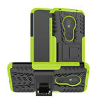 Shockproof Hybrid Armor Rugged Hard Rubber Case For Moto G6 G7 E5 Plus Z3 Play