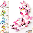 3d Butterfly Wall Stickers Art Decal Home Room Diy Decorations Kids Decor 12pcs