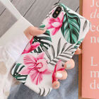 Iphone 8 Plus 7 6S XS Max XR Shockproof Flower Cute Girls Women Phone Case Cover